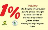 """1% podatku na Fundusz Stypendialny """"Równe Szanse"""""""